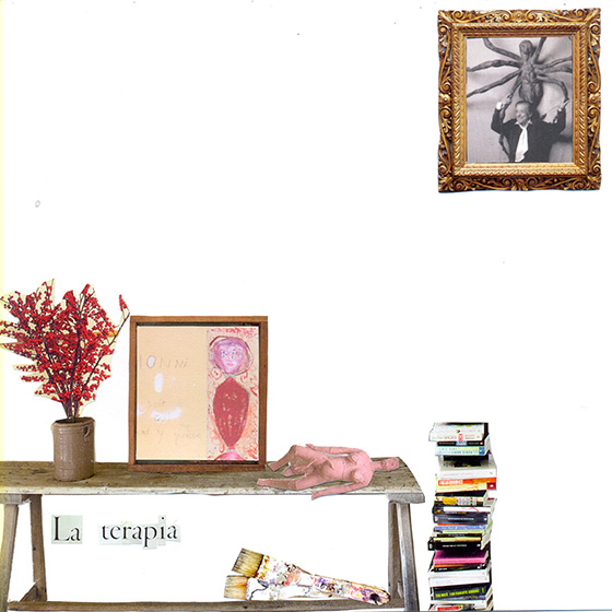 Collage sobre la vida de Louise Bourgeois