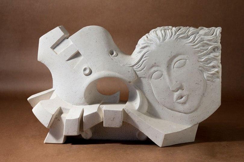 Trabajo de artes aplicadas de la escultura