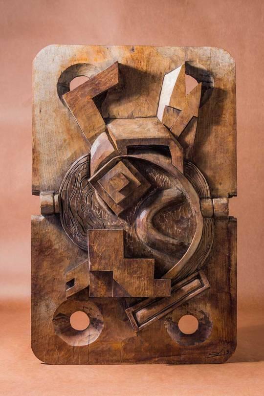 Trabajo de escultura