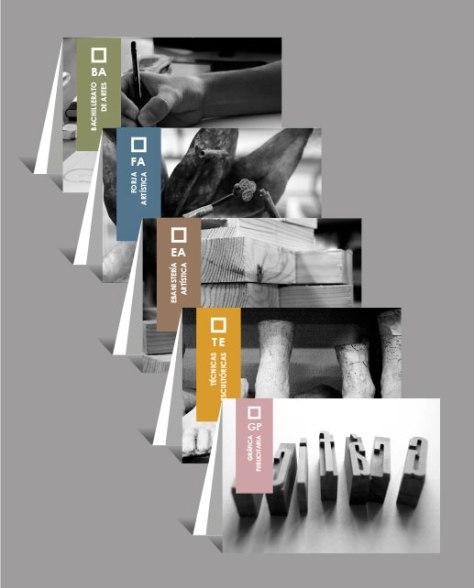 Imagen folletos de las enseñanzas