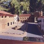 Imagen de la maqueta de la Plaza del Pópulo.