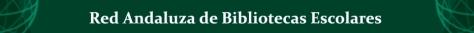 LOGO RED ANDALUZA DE BIBLIOTECAS ESCOLARES